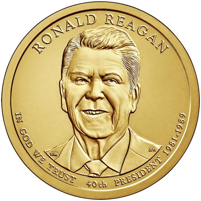 Рональд Рейган (40-й)