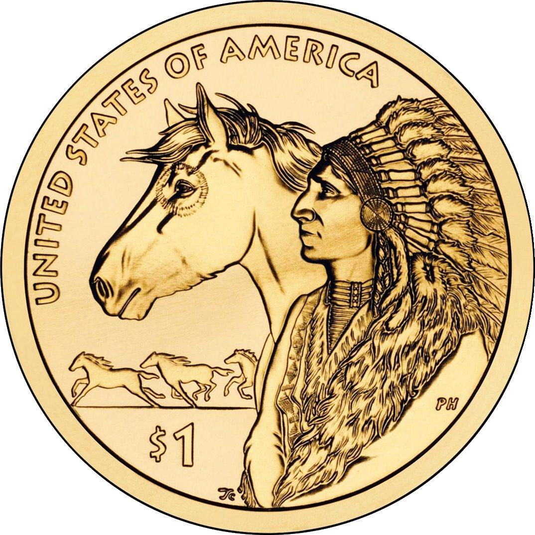 Индеец с лошадью