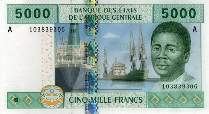 5000 франков