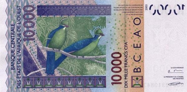 10000 франков