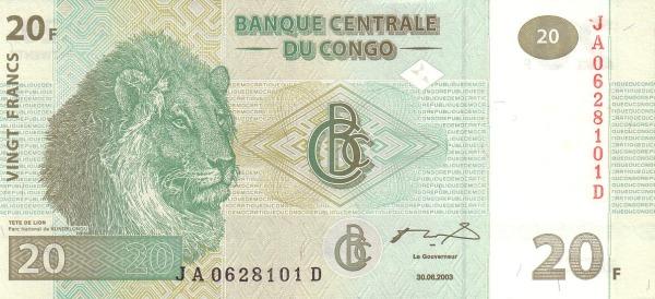 20 франков