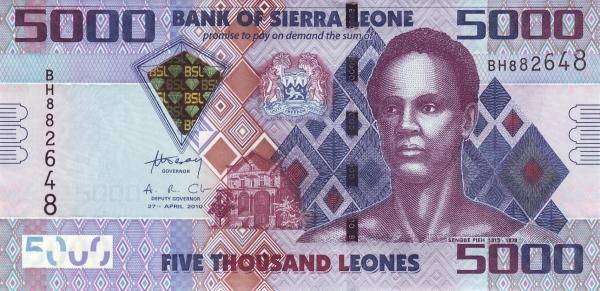 5000 леоне