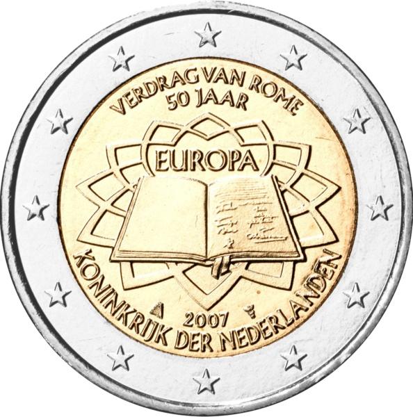 Нидерланды - 50-летие Римского договора