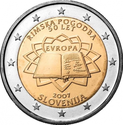 Словения - 50-летие Римского договора