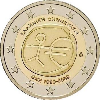 Греция - 10 лет Экономическому и валютному союзу
