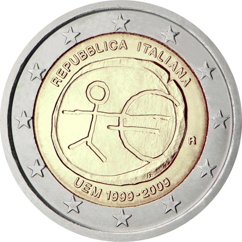 Италия - 10 лет Экономическому и валютному союзу