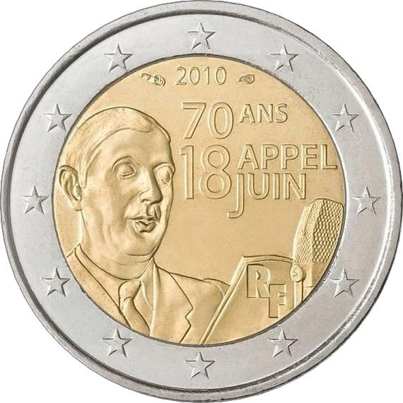 Франция - 70 лет речи Шарля де Голля