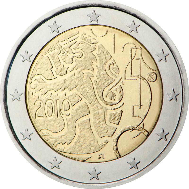 Финляндия - 150 лет финской валюте