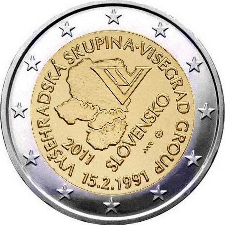 Словакия - 20 лет формирования Вишеградской группы