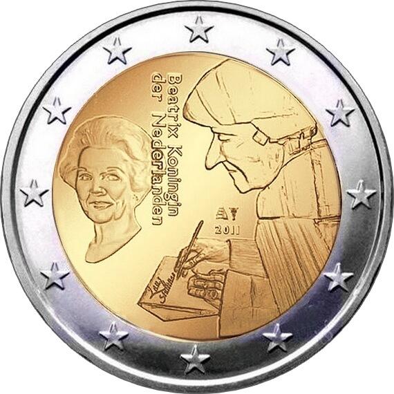 Нидерланды - 500 лет издания книги «Похвала глупости» Эразма Роттердамского
