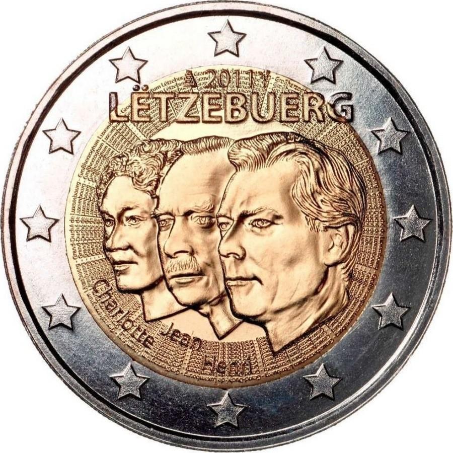 Люксембург - 50 лет назначения Великого герцога Люксембурга Жана титулом «lieutenant-représentant»