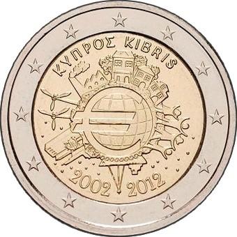 Кипр - 10 лет наличному евро