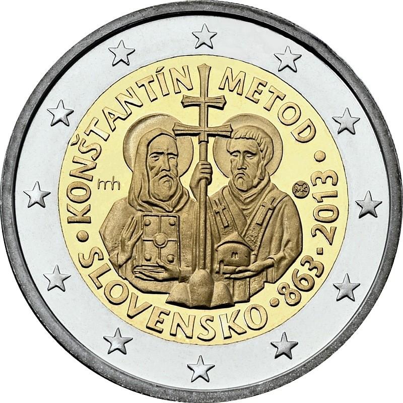 Словакия - 1150 лет византийской миссии Кирилла и Мефодия
