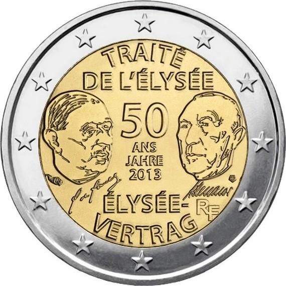Франция - 50-летие Елисейского Договора