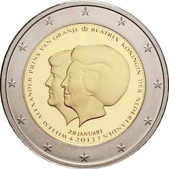 Нидерланды - Смена престола (Двойной портрет)