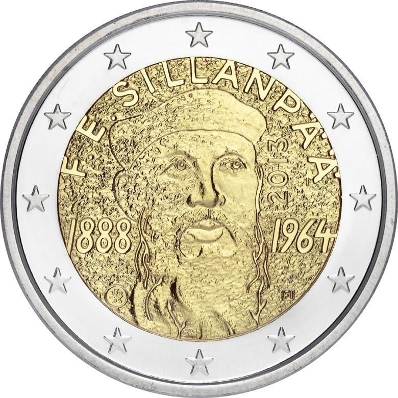 Финляндия - 125 лет со дня рождения писателя Ф.Э.Силланпяя