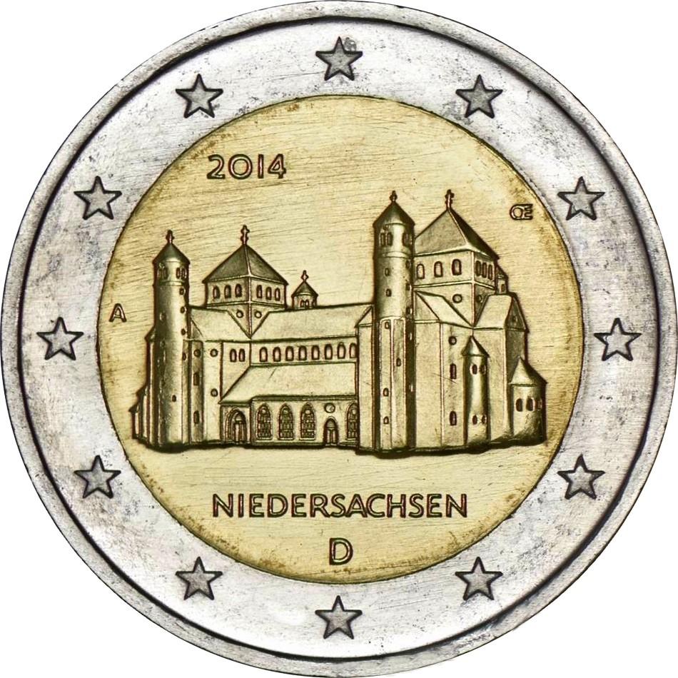 Германия - Нижняя Саксония: Церковь Святого Михаила в Хильдесхайме