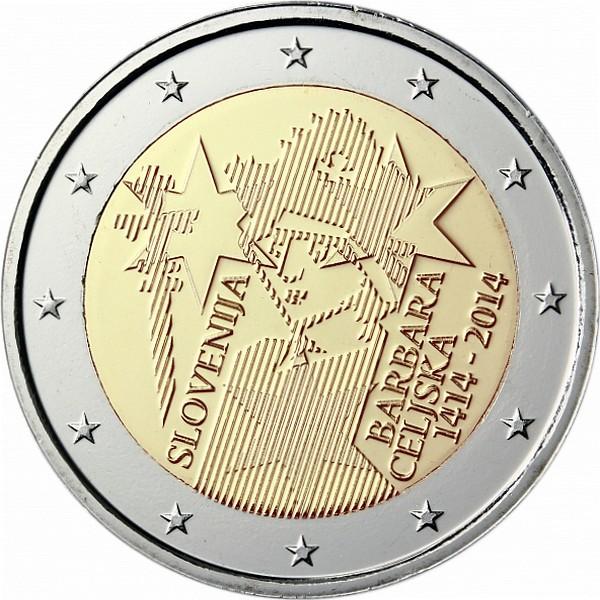 Словения - 600 лет коронации Барбары Цилли