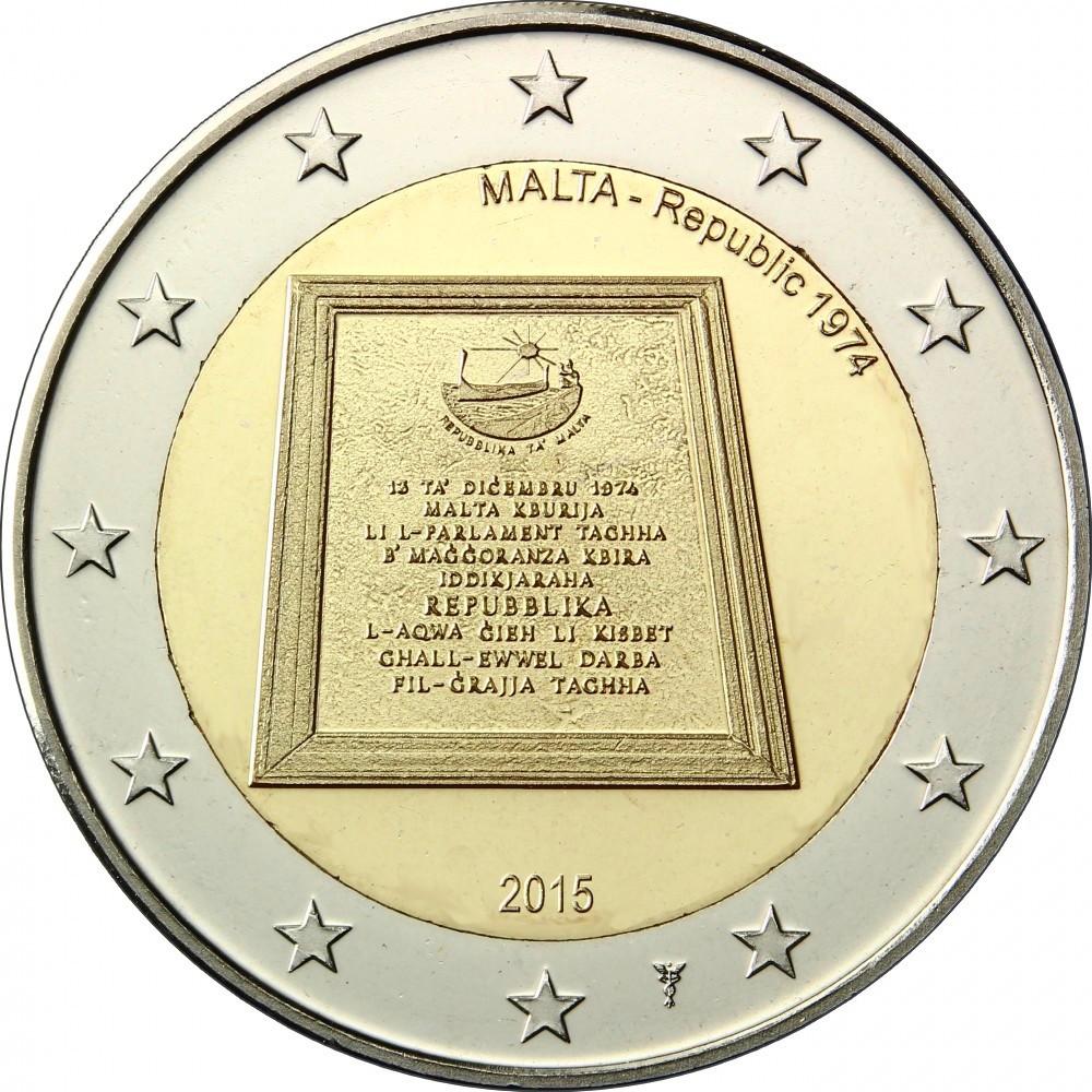 Мальта - Республика 1974