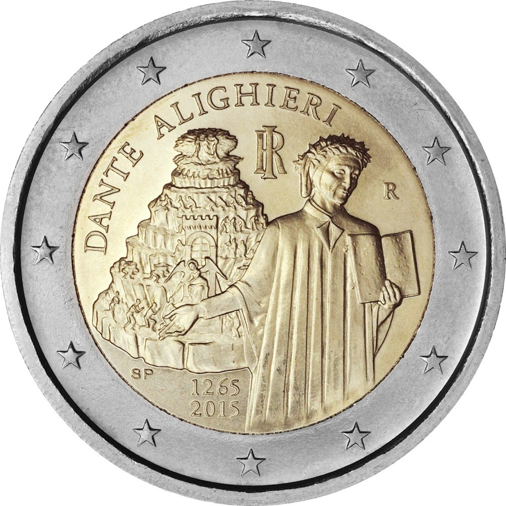 Италия - 750-летие со дня рождения Данте Алигьери