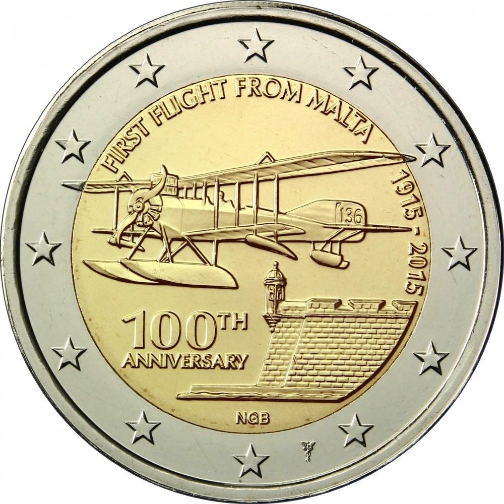 Мальта - 100 лет со дня первого полета из Мальты