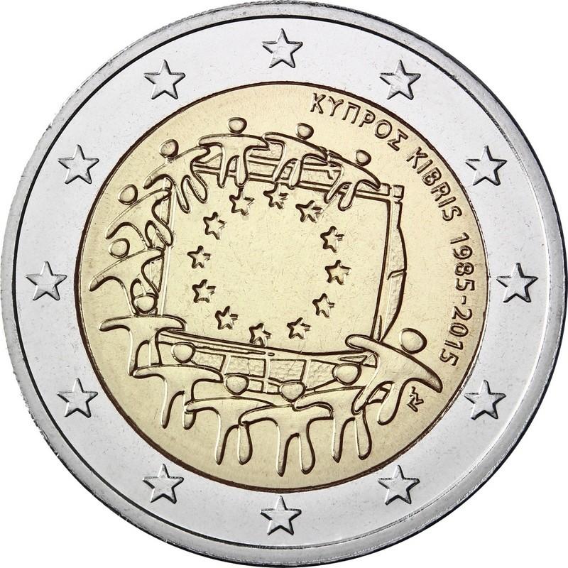 Кипр - 30 лет флагу ЕС