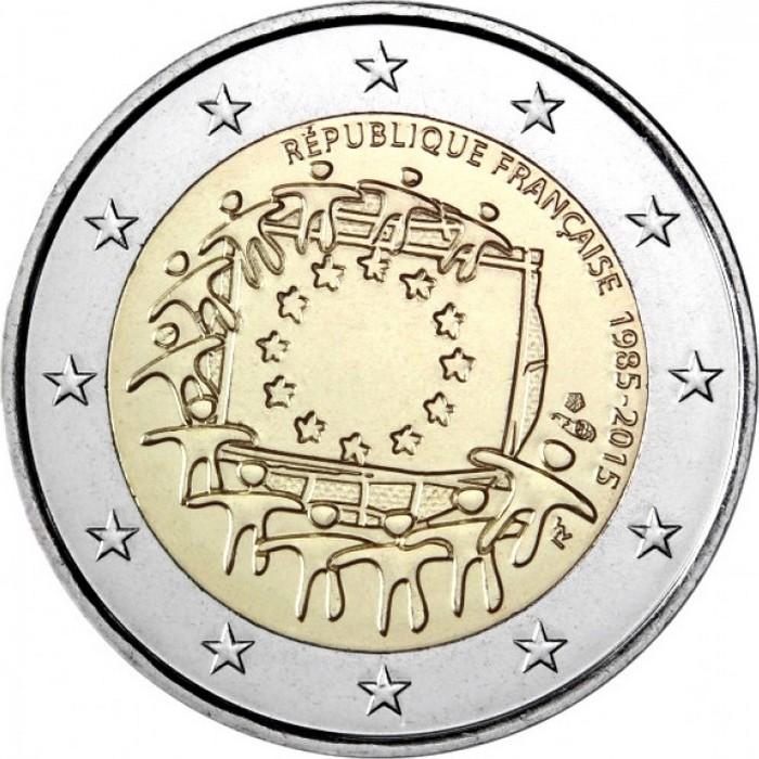 Франция - 30 лет флагу ЕС