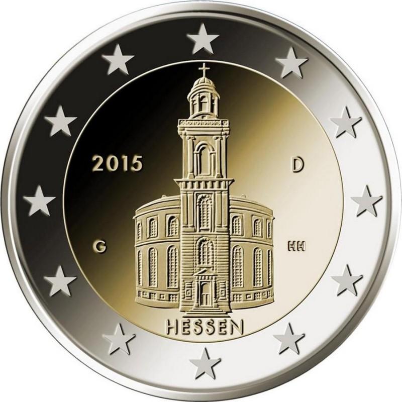 Германия - Гессен: Церковь Сент-Пол