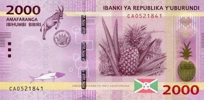 2000 франков