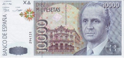 10000 песет
