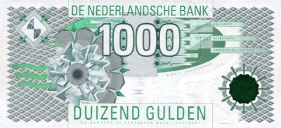 1000 гульденов