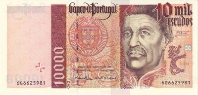 10000 эскудо