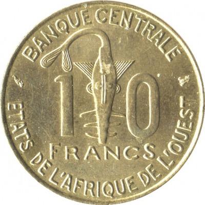 10 франков