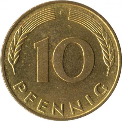 10 пфеннингов