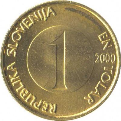 1 толар
