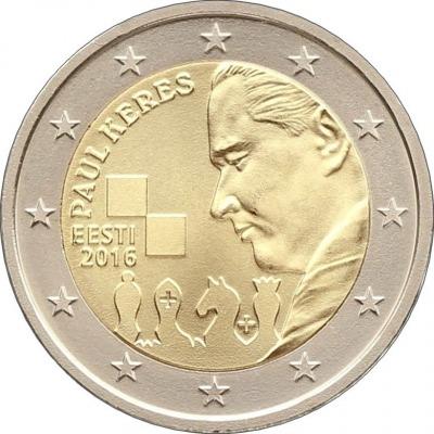 Эстония - 100 лет со дня рождения Пауля Кереса