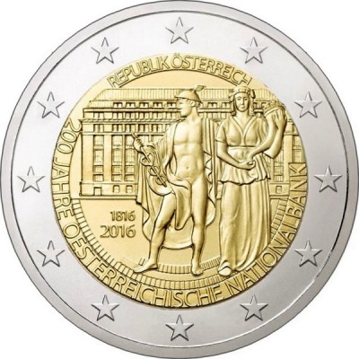 Австрия - 200-летие Национального банка Австрии