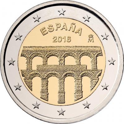 Испания - Старинный город Сеговия с римским акведуком