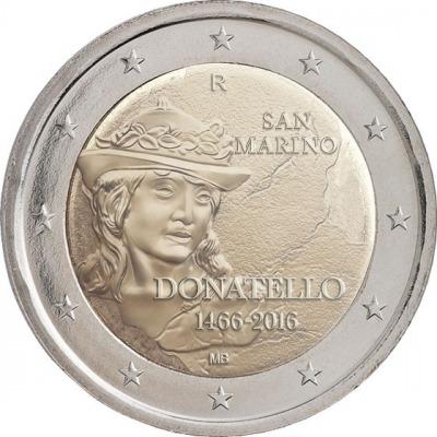 Сан-Марино - 550 лет со дня смерти Донателло