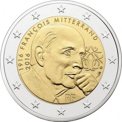 Франция - 100 лет со дня рождения Франсуа Миттерана