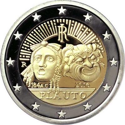Италия - 2200 лет со дня смерти Тита Макция Плавта