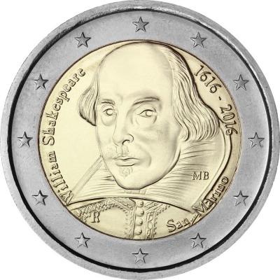 Сан-Марино - 400 лет со дня смерти Уильяма Шекспира