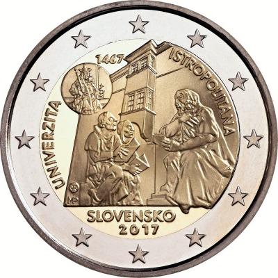 Словакия - 550-летие Истрополитанского университета