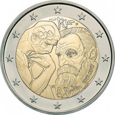 Франция - 100 лет со дня смерти Огюста Родена