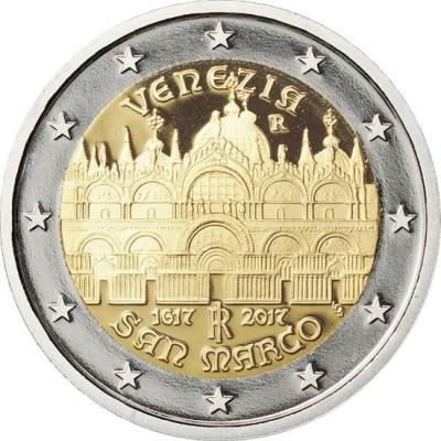 Италия - 400-летие завершения строительства собора Святого Марка в Венеции
