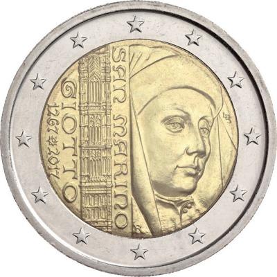 Сан-Марино - 750 лет со дня рождения Джотто ди Бондоне