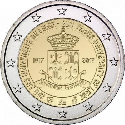 Бельгия - 200 лет с основания Льежского университета