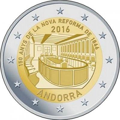 Андорра - 150-летие новой реформы 1866 года