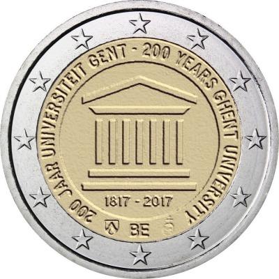 Бельгия - 200 лет с основания Гентского университета
