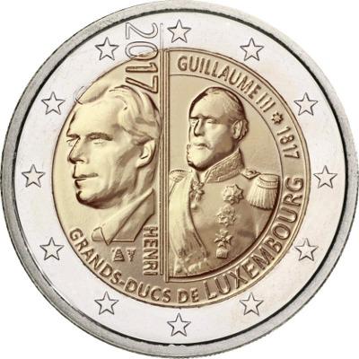 Люксембург - 200 лет со дня рождения Великого герцога Люксембурга Виллема III